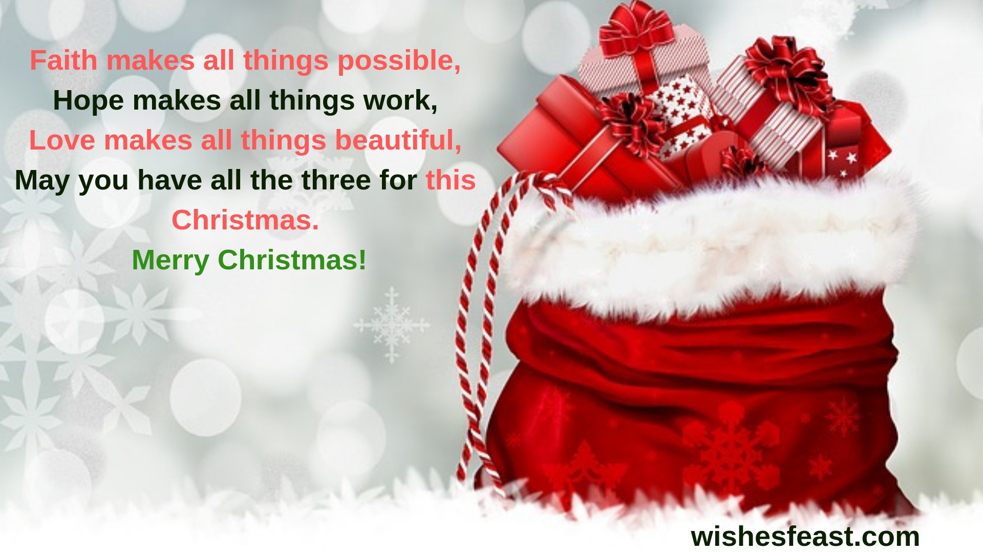 Merry Christmas Wishes Messages 2019