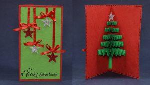 Handmade Xmas Christmas Cards