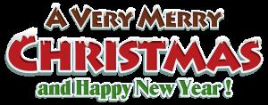 Merry Christmas Clipart Banner