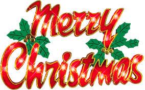 Merry Christmas Clipart Gif