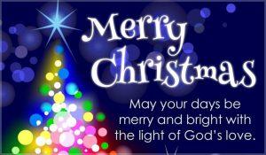Merry Christmas Greeting 2019