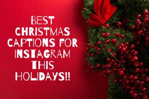 Christmas Instagram Captions