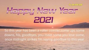 Happy New Year 2021 Wishes Greetings