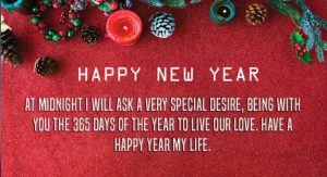 Love in Messages Happy New Year 2021