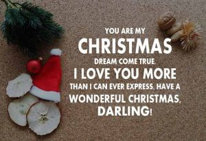 Lovely Christmas Wishes for Girlfriend