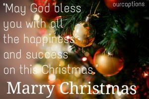 Merry Christmas Caption For Instagram
