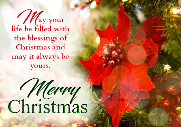 Merry Christmas Greeting Quotes