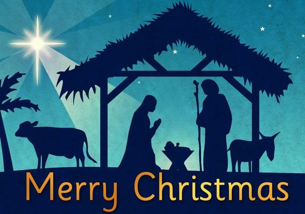 Merry Christmas Jesus Birth Greetings