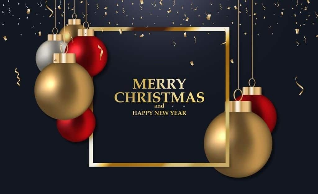 Merry Christmas and Happy New Year 2021 Images