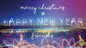 Merry Christmas and Happy New Year Wishes for Friends