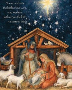 Religious Christmas Cards for Friends