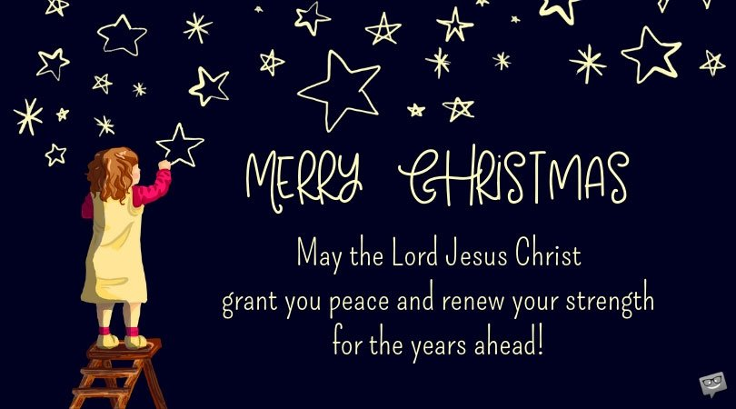 Religious Christmas Wishes Messages