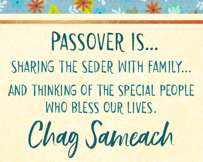 Happy Passover Messages for Family
