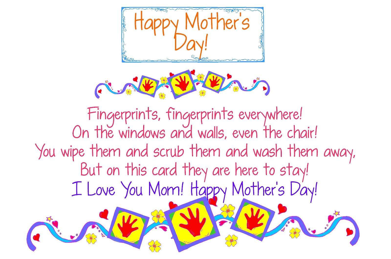 Mothers Day Heart Touching Poems