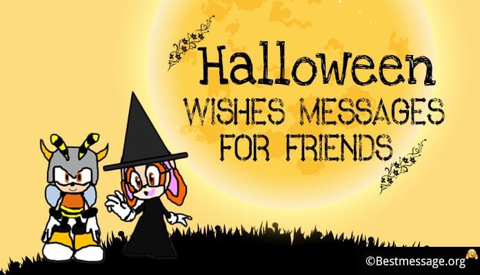 Happy Halloween 2020 Messages for kids