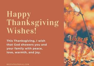 Thanksgiving Messages for Businesses