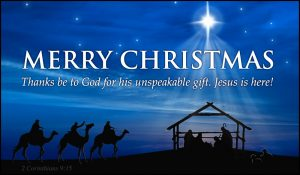 Religious Christmas Blessing Images