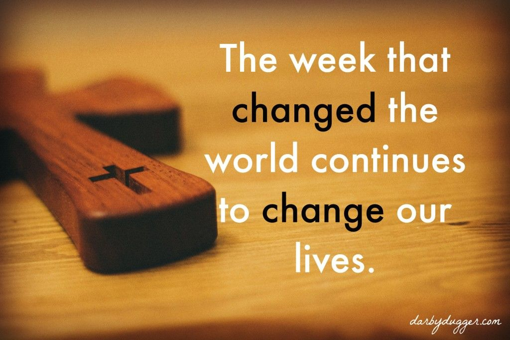 Happy Holy Week Messages